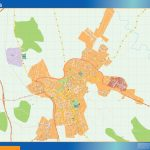 Caceres Mappa