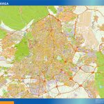 Madrid Area Mappa