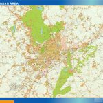 Madrid Gran Area Mappa
