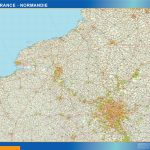 mappa ile de france normandie